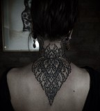 Adorable lace tattoo