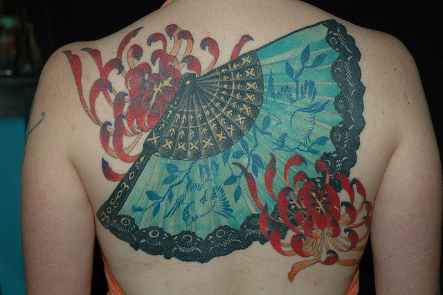 Amaizing asian tattoo