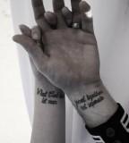 Amaizing couples tattoo
