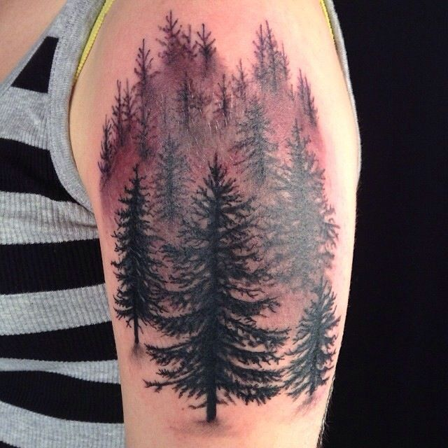 Amaizing firs tattoo