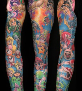Amaizing games tattoo