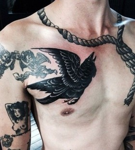 Amaizing man tattoo by Pari Corbitt