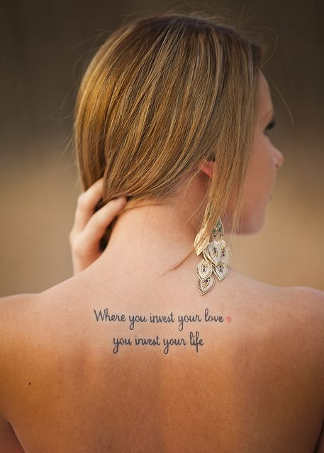 Amaizing quotes tattoo
