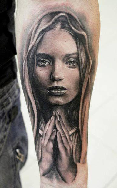 Amaizing religious tattoo