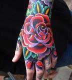 Amaizing rose tattoo