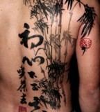 Asian style tattoo