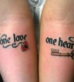 Awesome design love tattoo