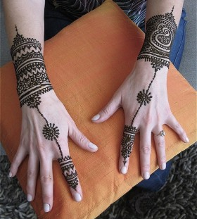 Awesome hands tattoo