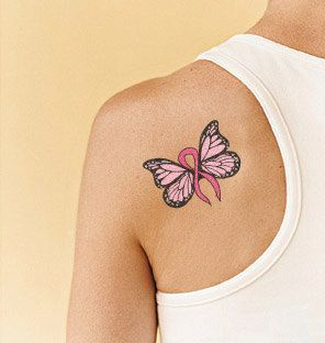 Awesome pink tattoo