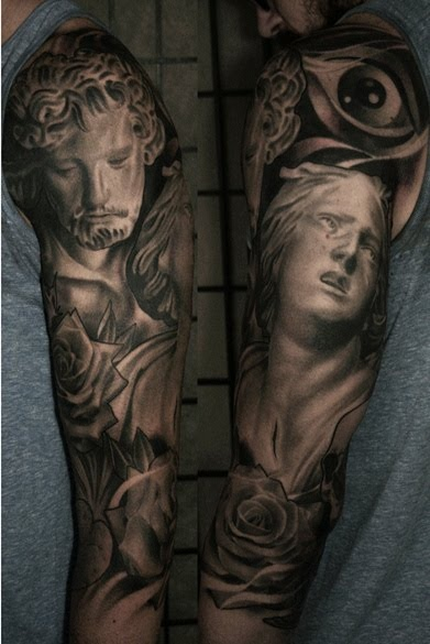 Awesome tattoo by James Spencer Briggs