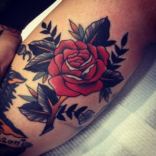 Awesome tattoo by Kirk Jones
