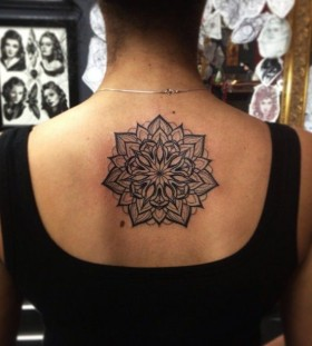 Back tattoo by Pari Corbitt