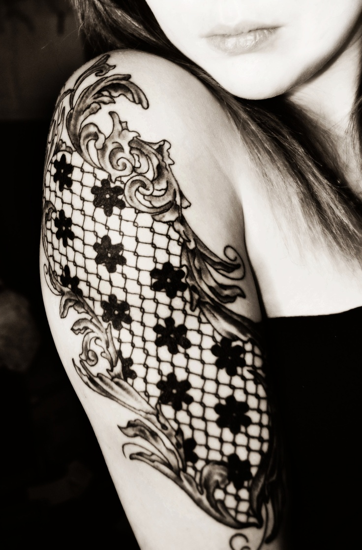 black lace tattoo tattoomagz � tattoo designs ink