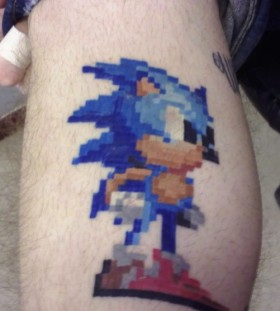 Blue hero games tattoo