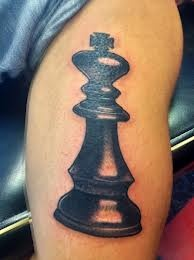 Cool chess tattoo