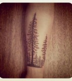 Cute tree tattoo
