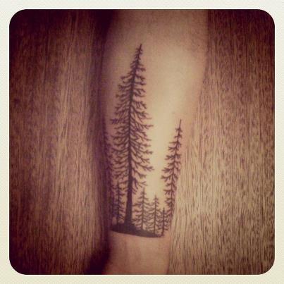 Cute tree tattoo