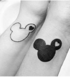 Disney couples tattoo