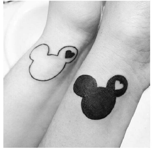 Disney couples tattoo