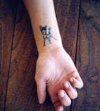 Disney row tattoo