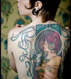 Fabulous back tattoo
