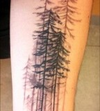 Fir tattoo