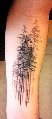 Fir tattoo
