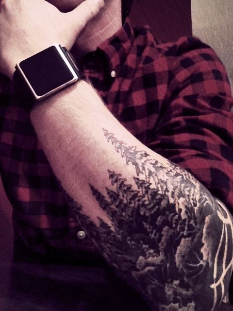 Forests tattoo