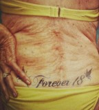 Forever 18 tattoo