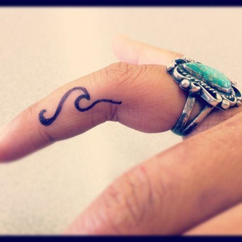 Gorgeous fingers tattoo