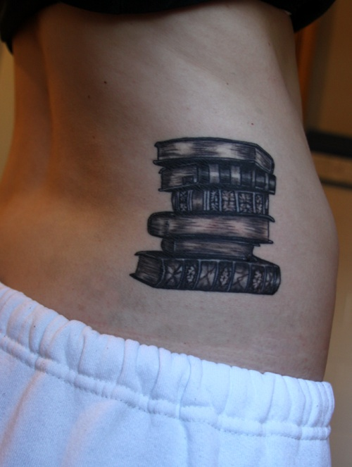 Great books tattoo
