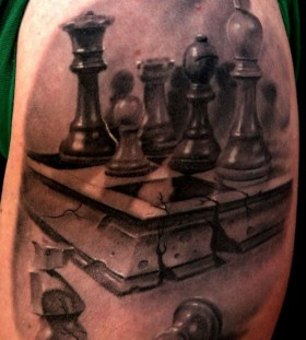 Great chess tattoo
