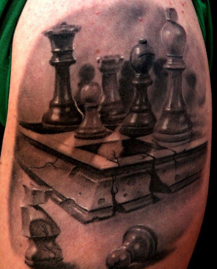 Great chess tattoo