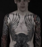 Great men eagle tattoo