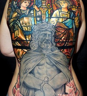 Great religious tattoo