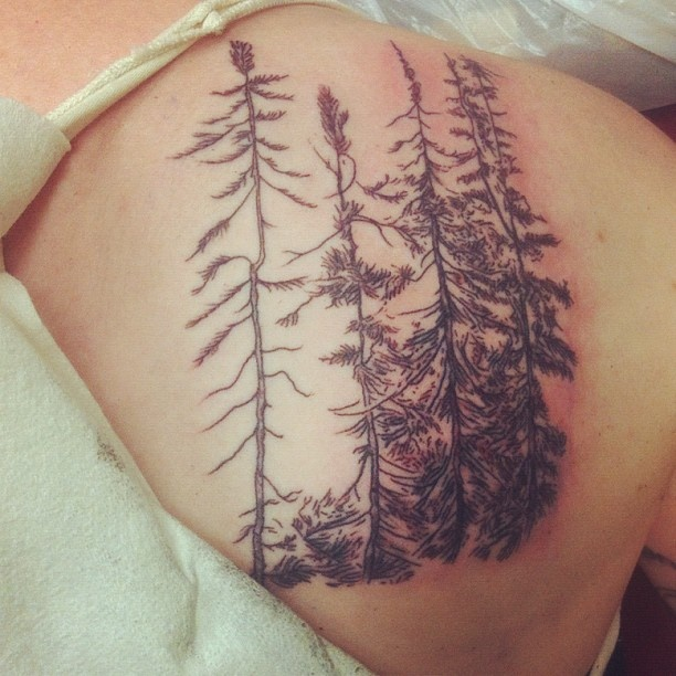 Great trees tattoo