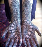Hands lace tattoo