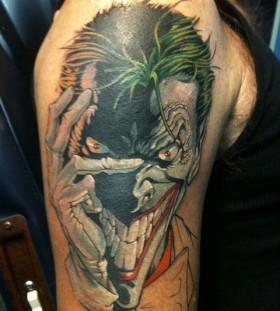 Joker-Tattoos-smile