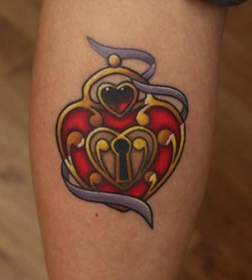 Key tattoo by Michelle Maddison