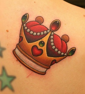 King tattoo by Michelle Maddison