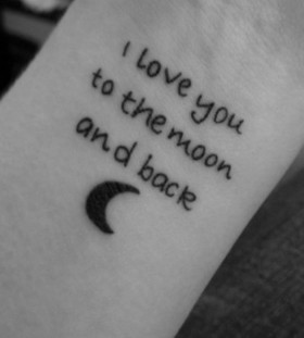 Love quotes tattoo