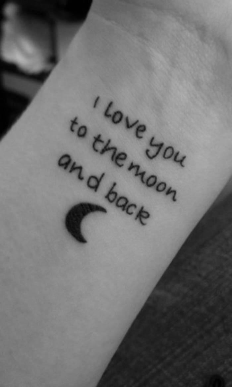 Love quotes tattoo
