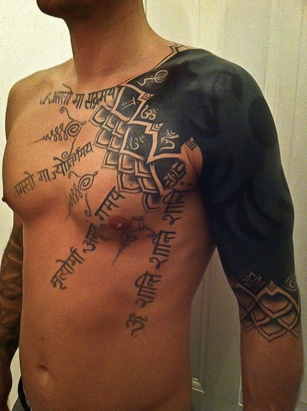 Lovely man tattoo by Meathshop