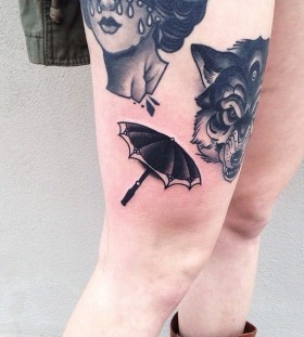 Lovely tattoo by Pari Corbitt