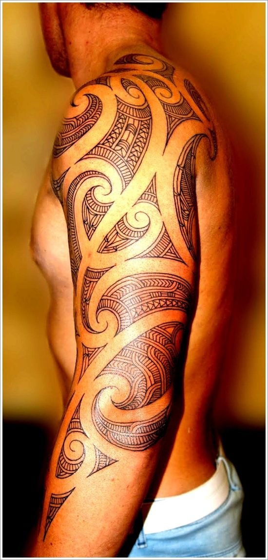 Man Patterned Tattoo Tattoomagz Tattoo Designs Ink