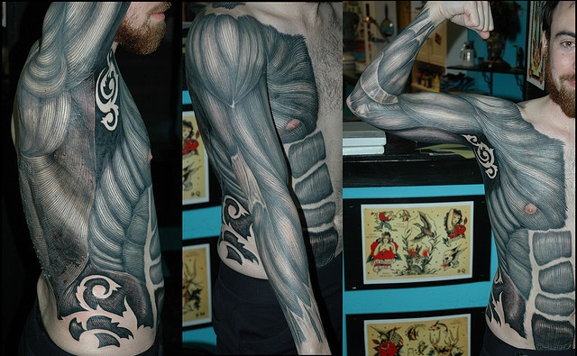 Man tattoo by Michael Norris