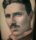 Men tattoo by James Spencer Briggs