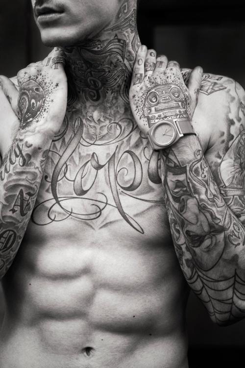 Nice man tattoo