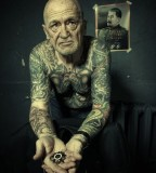 Old men personality tattoos