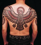 Ornaments eagle tattoo